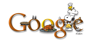 thanksgiving google doodle
